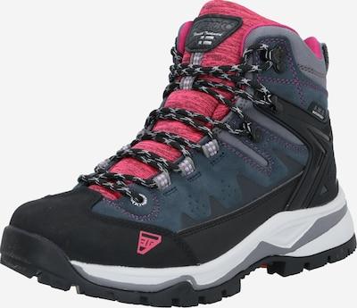 ICEPEAK Škornji | siva / roza / črna barva, Prikaz izdelka