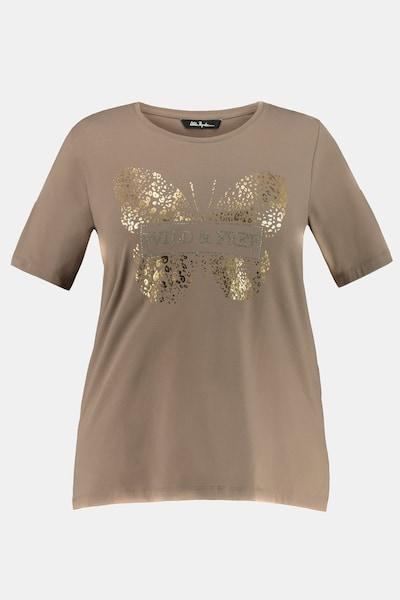 Ulla Popken Shirt in braun, Produktansicht