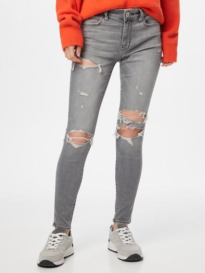 American Eagle Jeans in de kleur Grijs, Modelweergave