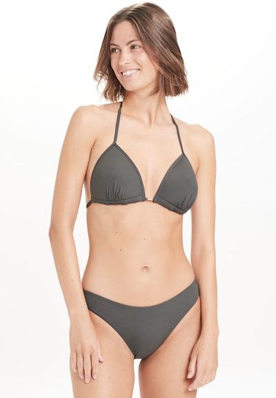 Athlecia Bikini-Oberteil 'Iserry W' in dunkelgrau, Modelansicht