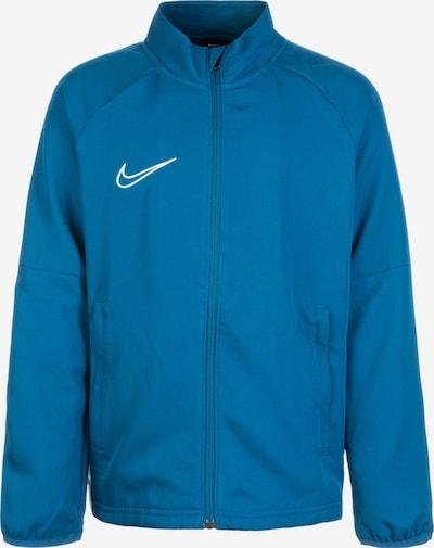 NIKE Trainingsjacke 'Academy 19 Track' in blau / weiß, Produktansicht