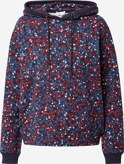 s.Oliver Sweat-shirt en bleu marine / rouge / blanc, Vue avec produit