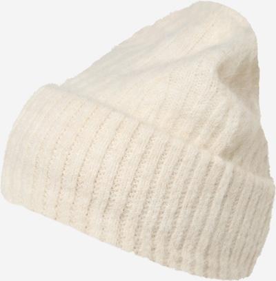 AMERICAN VINTAGE Bonnet 'East' en blanc, Vue avec produit