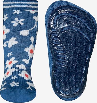 SANETTA Haussocke in blau, Produktansicht