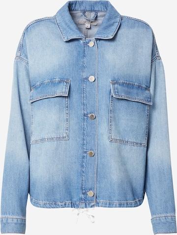 comma casual identity Between-Season Jacket in Blue