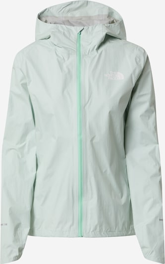 THE NORTH FACE Outdoorjas in de kleur Pastelgroen / Wit: Vooraanzicht