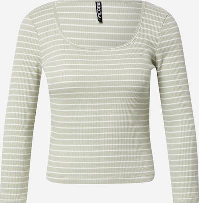 PIECES Shirt 'PCGERDIE' in Pastel green / White, Item view