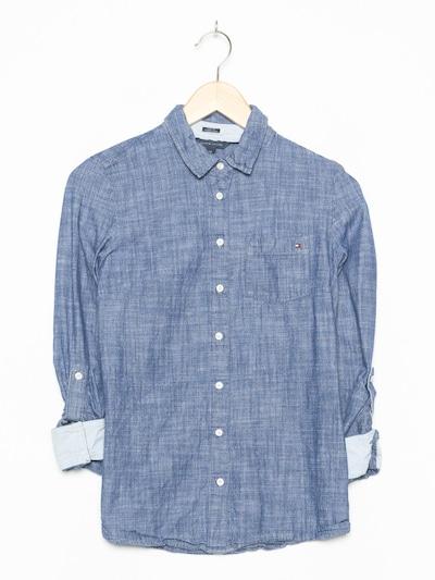 TOMMY HILFIGER Jeanshemd in XS-S in blue denim, Produktansicht