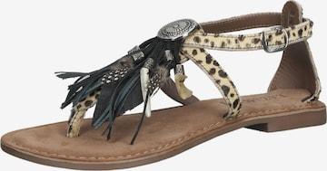 LAZAMANI Sandale in Beige