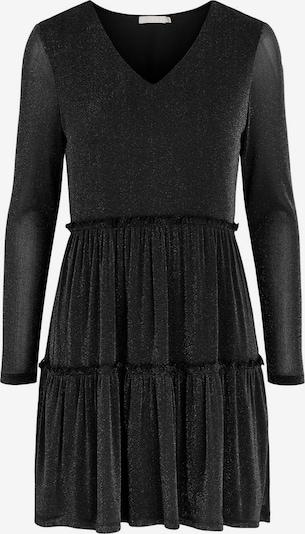 PIECES Glitzer Kleid in schwarz, Produktansicht