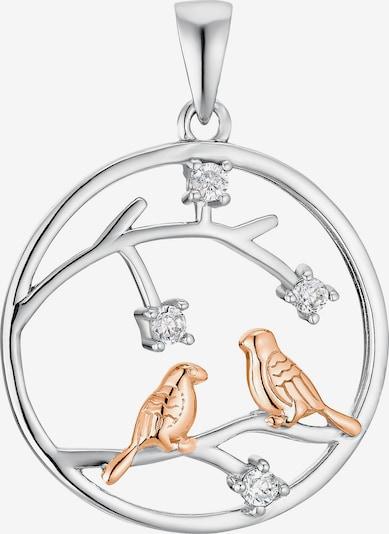 AMOR Anhänger 'Vogel' in gold / silber, Produktansicht