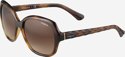VOGUE Eyewear Lunettes de soleil en marron, Vue avec produit