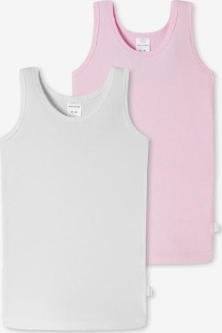 SCHIESSER Unterhemd in Weiß