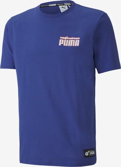 PUMA T-Shirt in blau / hellrot, Produktansicht