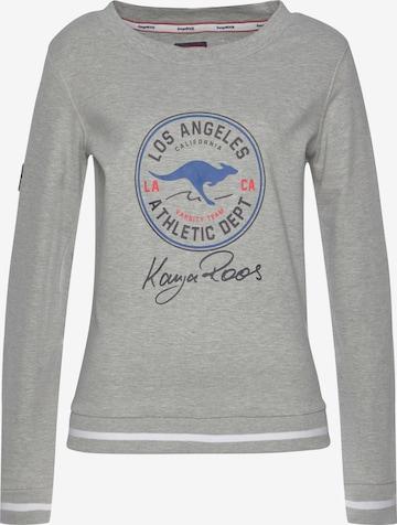 KangaROOS Sweatshirt in Grau