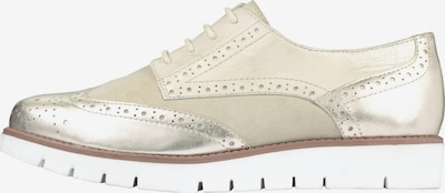 SCHOLL Lace-Up Shoes 'Virginia Summer' in Beige / Cream / Gold, Item view