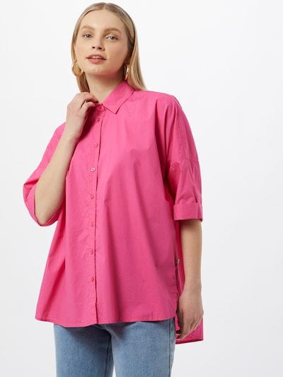 Herrlicher Bluza 'Marini'   roza barva, Prikaz modela