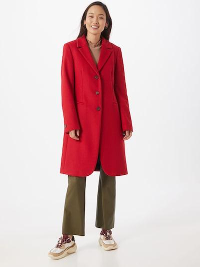CINQUE Manteau mi-saison 'Tora' en rouge, Vue avec modèle