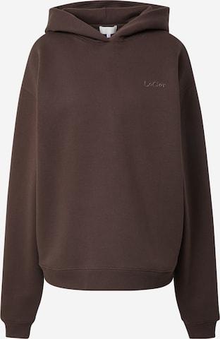 LeGer by Lena Gercke Sweatshirt 'Rieke' in Brown