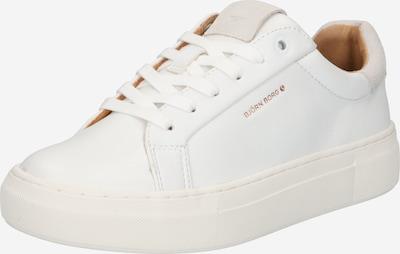 BJÖRN BORG Baskets basses en poudre / blanc, Vue avec produit