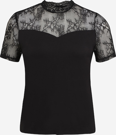 Pieces Petite T-shirt 'PINA' i svart, Produktvy