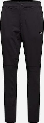 Reebok Sport Sports trousers in Black