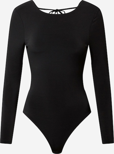 Gina Tricot T-shirtbody i svart, Produktvy