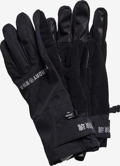 Superdry Sporthandschoenen in de kleur Zilvergrijs / Zwart, Productweergave