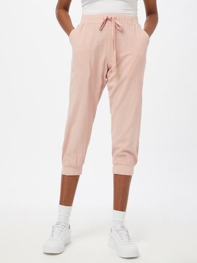 Kaffe Pantalon 'Naya' en rose pastel, Vue avec modèle