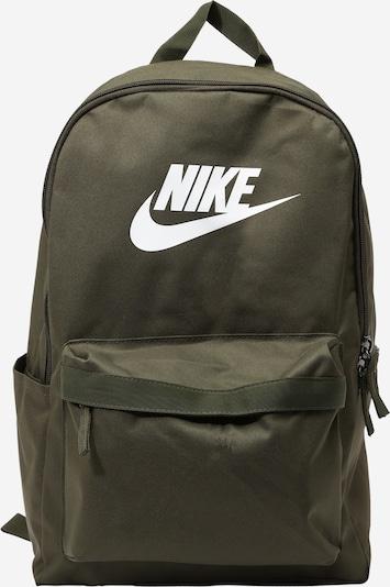 Nike Sportswear Backpack in Khaki / White, Item view