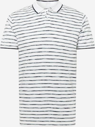 TOM TAILOR DENIM Shirt in de kleur Navy / Wit, Productweergave