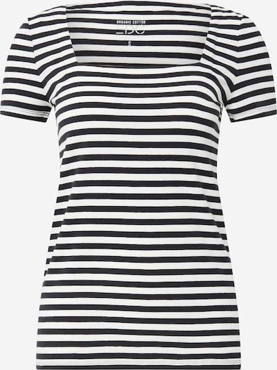 Tricou EDC BY ESPRIT pe negru / alb, Vizualizare produs