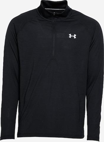 UNDER ARMOUR Sports sweatshirt 'Streaker' in Black