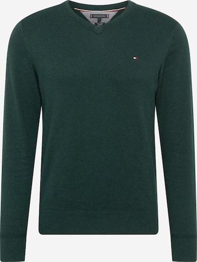 TOMMY HILFIGER Trui in de kleur Smaragd, Productweergave