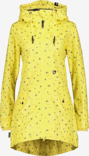 Alife and Kickin Tussenjas 'Audrey' in de kleur Geel / Zwart, Productweergave
