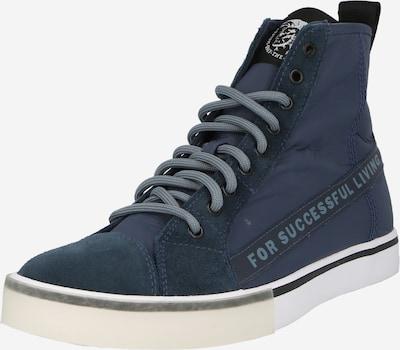 DIESEL Augstie brīvā laika apavi 'S-DVELOWS ML', krāsa - zils / tumši zils, Preces skats