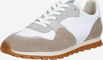 Garment Project Sneaker '80' Vintage' in beige / weiß, Produktansicht