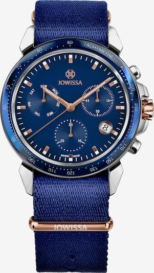 JOWISSA Quarzuhr 'LeWy 9 Swiss' in blau / marine / royalblau, Produktansicht