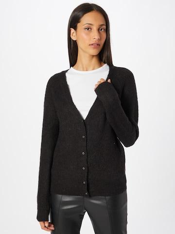 VILA Knit Cardigan 'DUA' in Black