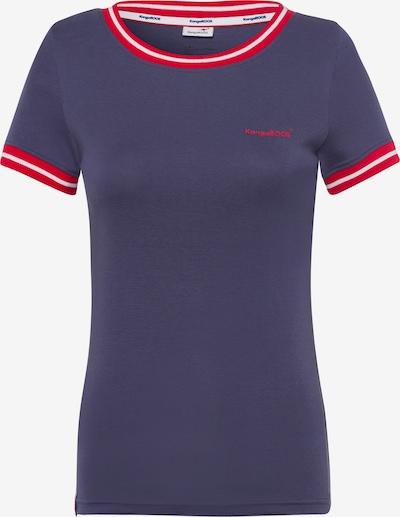 KangaROOS T-Shirt in blau / rot, Produktansicht
