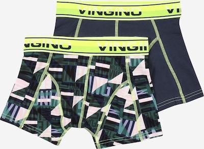 VINGINO Onderbroek in de kleur Nachtblauw / Groen / Wit, Productweergave