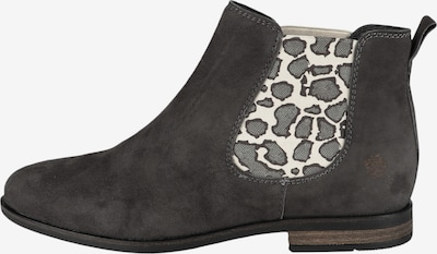 Apple of Eden Chelsea Boot 'MANON' in grau: Frontalansicht