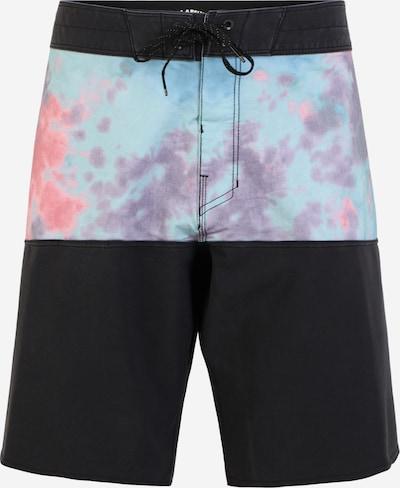 BILLABONG Kupaće hlače u svijetloplava / ljubičasta / roza / crna, Pregled proizvoda