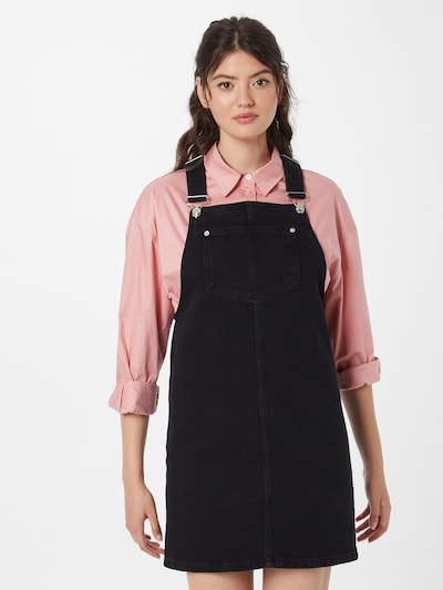 NEW LOOK Kleid 'PADDY PINNY' in black denim, Modelansicht