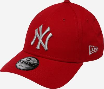 NEW ERA Cap '9FORTY' in grau / blutrot, Produktansicht