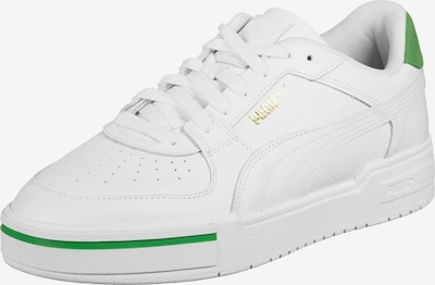 PUMA Baskets basses ' CA Pro Heritage ' en or / vert / blanc, Vue avec produit