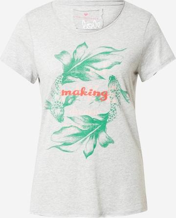 LIEBLINGSSTÜCK Shirt 'Candy' in Grau