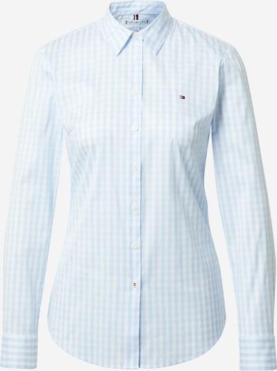 TOMMY HILFIGER Блуза в лазурно синьо / бяло, Преглед на продукта