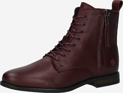 Apple of Eden Lace-Up Ankle Boots 'Madonna' in Bordeaux, Item view
