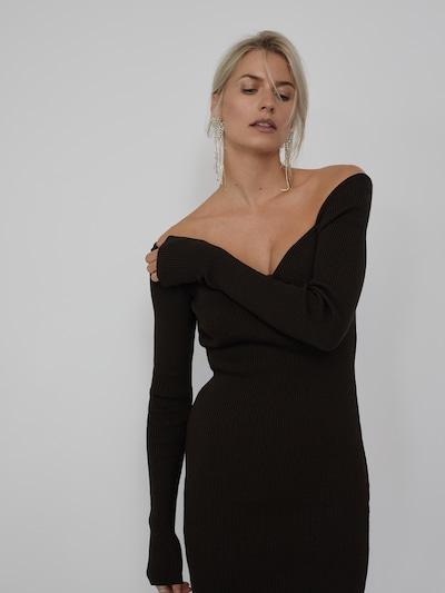 LeGer by Lena Gercke Kleid 'Sarina' in braun, Modelansicht